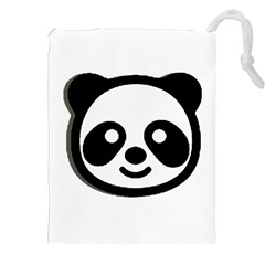 Panda Head Drawstring Pouches (XXL)