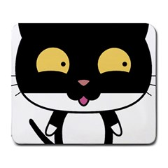 Panda Cat Large Mousepads