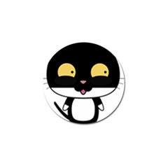 Panda Cat Golf Ball Marker (4 pack)