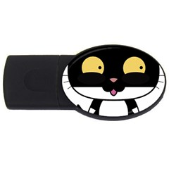 Panda Cat USB Flash Drive Oval (2 GB)