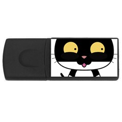 Panda Cat USB Flash Drive Rectangular (1 GB)