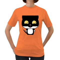 Panda Cat Women s Dark T-Shirt