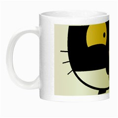 Panda Cat Night Luminous Mugs