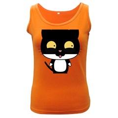 Panda Cat Women s Dark Tank Top