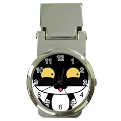 Panda Cat Money Clip Watches