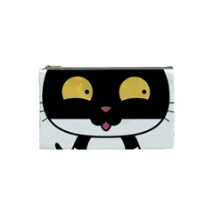 Panda Cat Cosmetic Bag (Small)