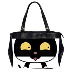Panda Cat Office Handbags (2 Sides)