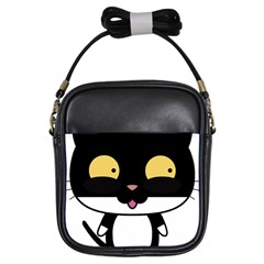 Panda Cat Girls Sling Bags