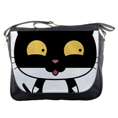 Panda Cat Messenger Bags