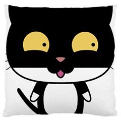 Panda Cat Large Cushion Case (Two Sides)