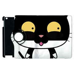 Panda Cat Apple iPad 2 Flip 360 Case