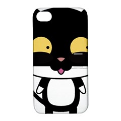 Panda Cat Apple iPhone 4/4S Hardshell Case with Stand
