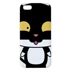 Panda Cat Apple iPhone 5 Premium Hardshell Case