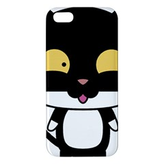 Panda Cat iPhone 5S/ SE Premium Hardshell Case