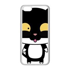 Panda Cat Apple iPhone 5C Seamless Case (White)