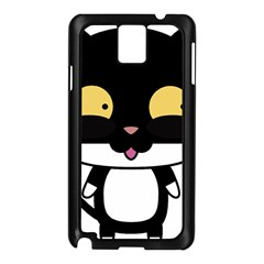 Panda Cat Samsung Galaxy Note 3 N9005 Case (Black)