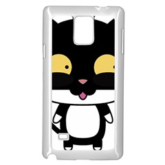 Panda Cat Samsung Galaxy Note 4 Case (White)