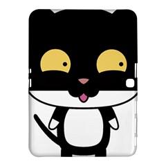 Panda Cat Samsung Galaxy Tab 4 (10.1 ) Hardshell Case