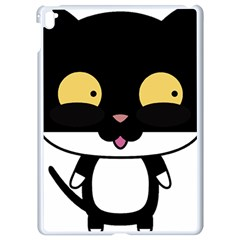 Panda Cat Apple iPad Pro 9.7   White Seamless Case