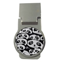 Panda Bg Money Clips (Round)