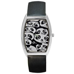 Panda Bg Barrel Style Metal Watch
