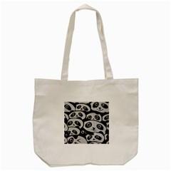 Panda Bg Tote Bag (Cream)