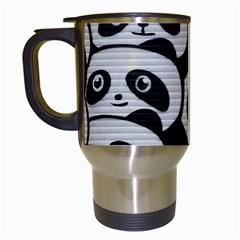Panda Bg Travel Mugs (White)