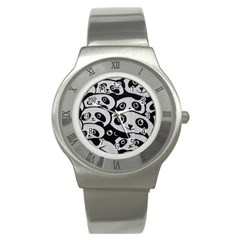 Panda Bg Stainless Steel Watch