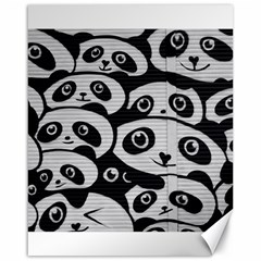Panda Bg Canvas 16  x 20