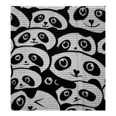 Panda Bg Shower Curtain 66  x 72  (Large)