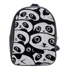 Panda Bg School Bags(Large)