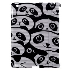 Panda Bg Apple iPad 3/4 Hardshell Case (Compatible with Smart Cover)