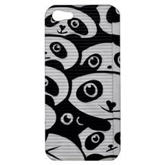 Panda Bg Apple iPhone 5 Hardshell Case
