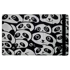 Panda Bg Apple iPad 2 Flip Case