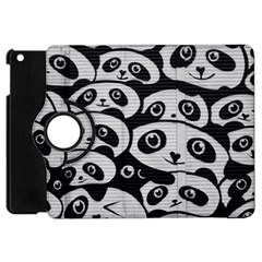 Panda Bg Apple iPad Mini Flip 360 Case