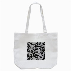 Panda Bg Tote Bag (White)