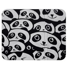 Panda Bg Double Sided Flano Blanket (Medium)