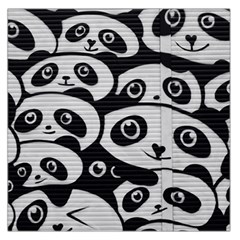 Panda Bg Large Satin Scarf (Square)