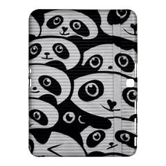 Panda Bg Samsung Galaxy Tab 4 (10.1 ) Hardshell Case