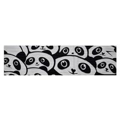 Panda Bg Satin Scarf (Oblong)