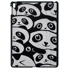Panda Bg Apple iPad Pro 9.7   Black Seamless Case