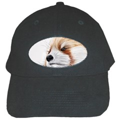 Panda Art Black Cap