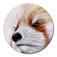 Panda Art Round Mousepads
