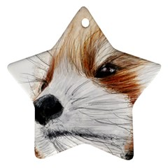 Panda Art Ornament (Star)