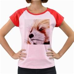 Panda Art Women s Cap Sleeve T-Shirt