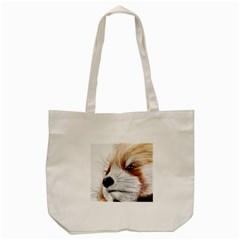 Panda Art Tote Bag (Cream)