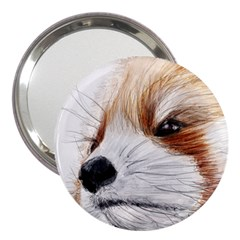 Panda Art 3  Handbag Mirrors