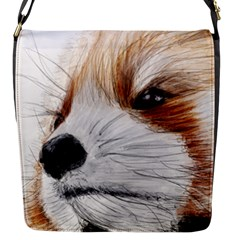 Panda Art Flap Messenger Bag (S)