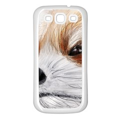 Panda Art Samsung Galaxy S3 Back Case (White)