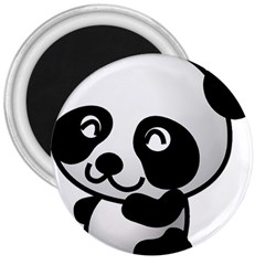 Adorable Panda 3  Magnets